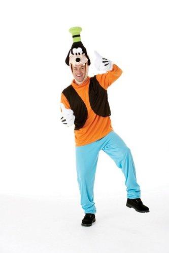 Adult Costume Men : MEDIUM (Goofy-kostüme)