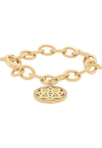 JETTE Magic Passion Damen-Armband Chakra Metall 47 Kristall One Size, gold