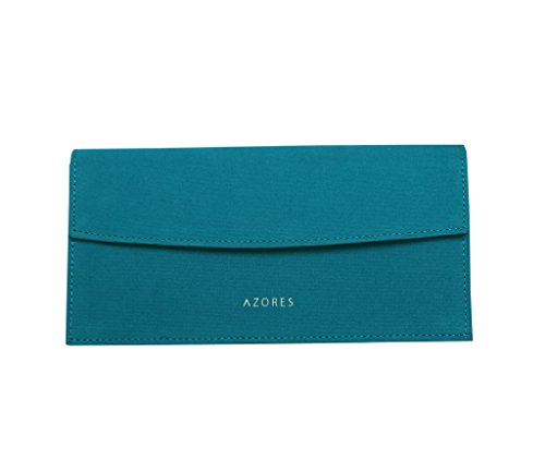 Azores-Womens-Blue-Clutch