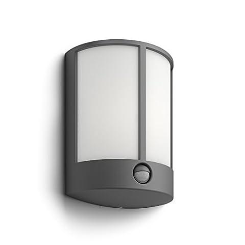 Philips myGarden LED Wandaussenleuchte Stock, Bewegungsmelder Aluminium 6 W Grau 164659316