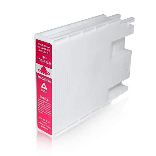 T7553 Cartuccia Compatibile Magenta Per Epson WorkForce Pro WF-8010 WF-8090 WF-8510 WF-8590