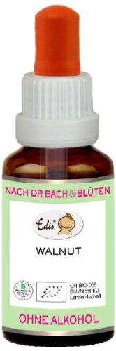 Sunasar Edis Walnut alkoholfrei 15ml (Bio Bachblüten), 1er Pack (1 x 15 ml)