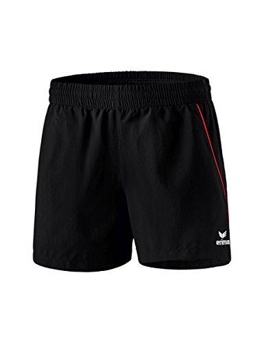 Erima Damen Tischtennis Shorts schwarz/Rot 38