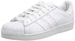 adidas Superstar Foundation, Unisex-Erwachsene Sneakers, Weiß (Ftwr White/Ftwr White/Ftwr White), EU 48
