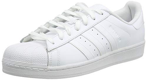 adidas Superstar, Zapatillas de deporte Unisex Adulto, Blanco (Footwear White/Silver Metallic/Core Black), 40 EU