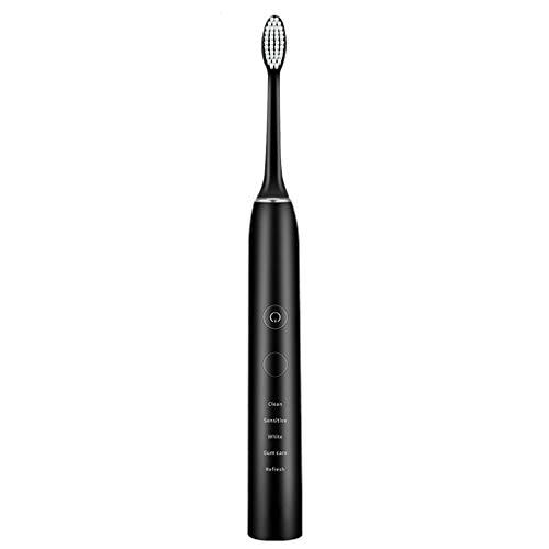 YSDDYS Erwachsene Wiederaufladbare Schallwellenvibration der Zahnbürste, die Zahnbürste weiß Werden lässt