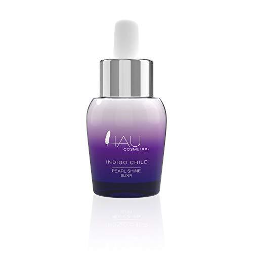 Make-Up Base - Gesichtspflege Glow Primer Serum für strahlende Haut - Erfrischendes Gesichtsserum mit Perlmuttpartikeln - Pflegendes Feuchtigkeitsserum von Hau Cosmetics Pearl Shine Elixir 30ml