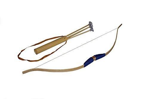 Große Bogen Juguetutto- Spielzeug Seil mit verschiedenen Farben, darunter carcag mit 3 Pfeilen Saugspitze -