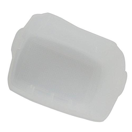 DealMux Digitalkamera Clear White Plastic Blitz Diffusor RC06