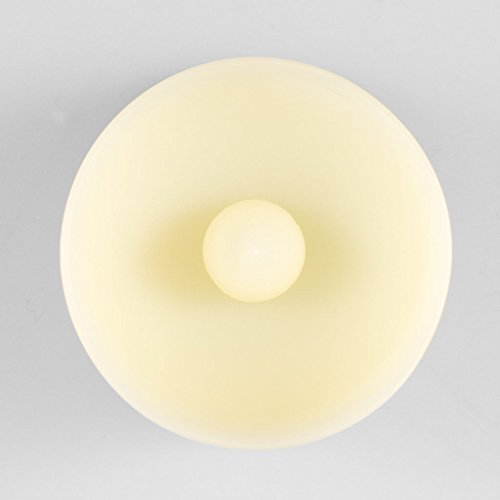 Velas de té LED con mando a distancia, 3unidades, intensidad regulable, muy larga duración de combustión