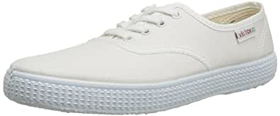 Victoria Unisex - Adult Tight 5643 black Trainers, White (Blanco), 2.5 UK