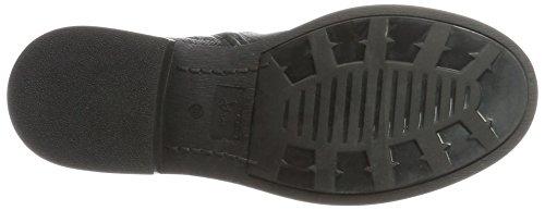 Tosca Blu Damen Lizzola Combat Boots Schwarz (Nero)