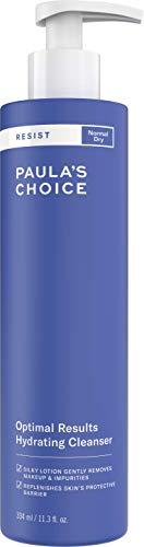 Paula's Choice Resist Hydrating Gesichtsreiniger - Anti Falten Gesicht Cleanser & Makeup Entferner - Milder Reiniger mit Grüner Tee - Normale bis Trockene Haut - 334 ml -