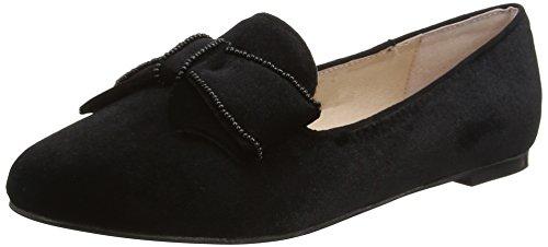 Black Velvet Bow (Office Damen Fortress W Ballerinas, Black (Black Velvet), 42 EU)