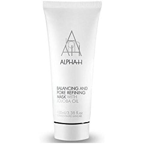 Alfa-H de equilibrio y la máscara de Refinamiento Poros (100 ml) (Paquete de 4)