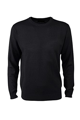 pierre-cardin-mens-new-season-essential-crew-neck-knitted-jumper-medium-black