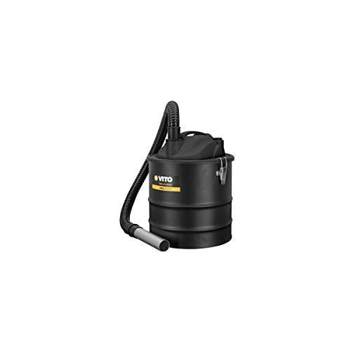 Aspirador de cenizas de Vito 1200W bandeja 18L incluye filtro HEPA especial Barbecues y sartenes...