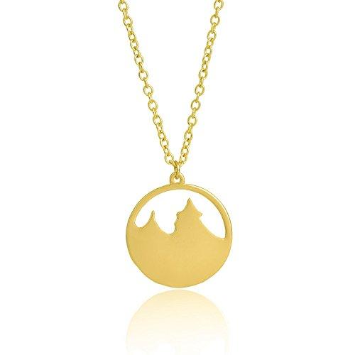Fledou Das Mädchen Halskette_Europäische und amerikanische Schmuck, Halsketten, Pfandrecht zarte Schlüsselbein Kette, gold,Halskette für alle Festivals