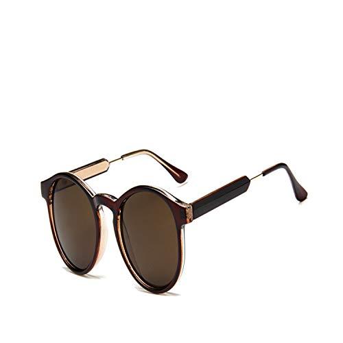 Sportbrillen, Angeln Golfbrille,Retro Round Sunglasses Women Men Brand Design Transparent Female Sun Glasses Men Oculos De Sol Feminino Lunette Soleil 5