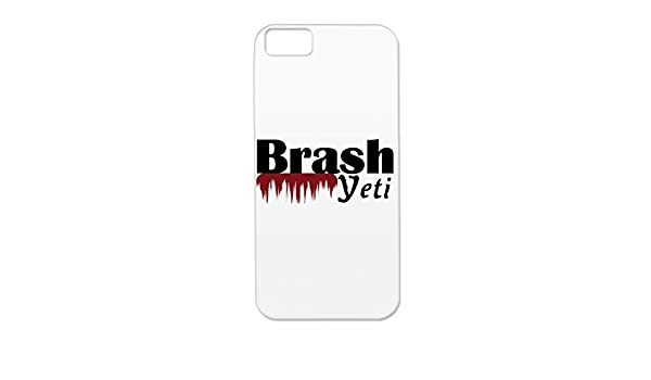 Tpu Pink Satire Funny Yeti Brash Protective Case For Iphone 5c
