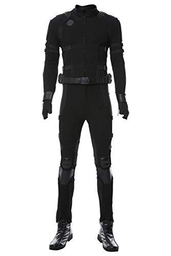 Peter Kostüm Parker - Xiemushop Noir / Stealth Suit Peter Parker Tom Holland Ver.B Uniform Cosplay Kostüm Herren