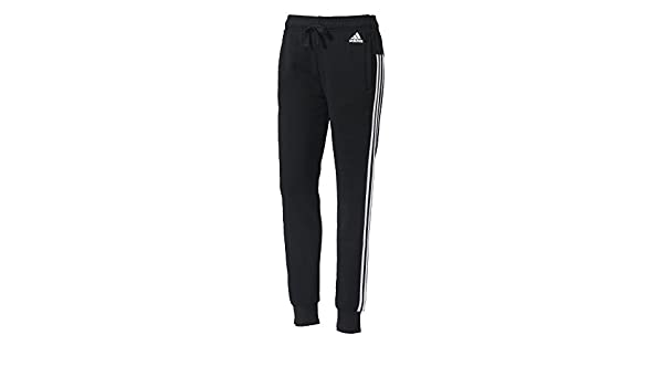 adidas S97109 Tracksuit Trousers for Woman, BlackWhite, XL