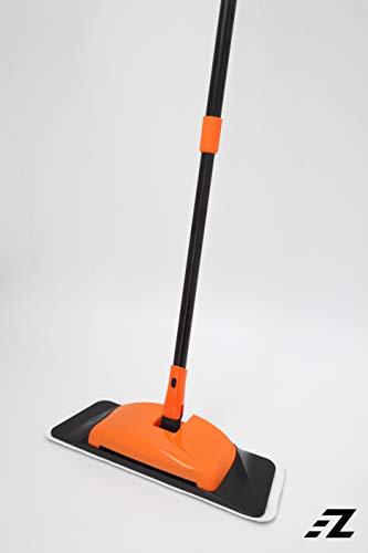 EZ FunShell FD-11 Microfiber Mop Sweeper, Steel - Rubbermaid Sweeper