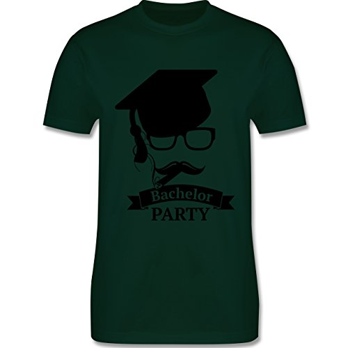 Abi & Abschluss - Bachelor Party Abschluss Studium - Herren Premium T-Shirt  Dunkelgrün