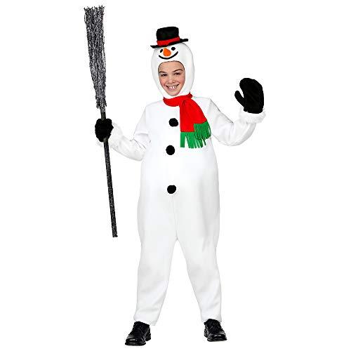 WIDMANN 07778 Kinderkostüm Schneemann, Unisex-Kinder, - Schnee Motto Party Kostüm