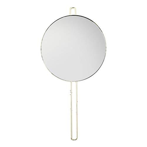 BESPORTBLE Handspiegel Badezimmerspiegel Wand hängen runden Spiegel Schminkspiegel für Heim-Salon Reise verwenden