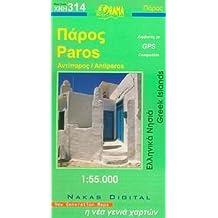 Paros / Antiparos 1 : 55 000