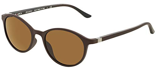 Starck eyes occhiali da sole 0sh5008 olive/brown uv polarized 49/18/145 uomo