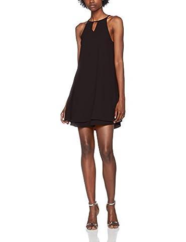 ONLY Damen Kleid Onlmariana Myrina S/L Dress Noos Wvn, Schwarz (Black Black), 38