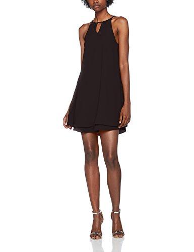 ONLY Damen Kleid Onlmariana Myrina S/L Dress Noos Wvn, Schwarz (Black Black), 40