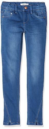 NAME IT NAME IT Mädchen Hosen Hose NKFPOLLY DNMTIA 2160 Ankle Pant NOOS 13160489, Einfarbig, Gr. 92 (Herstellergröße:92), Blau (Medium Blue Denim)