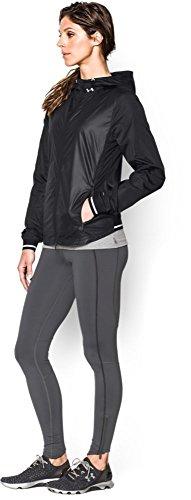 Under Armour Layered Up Storm Veste de running Femme Rebel Noir
