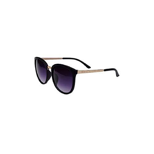 URSING Unisex Stilvolle Casual Sonnenbrille UV400 Retro Runde Outdoor Polarisierte Sonnenbrille für Damen Herren Katzenauge Cateye Brille Women Sunglasses Damenbrillen Eyewear (B)
