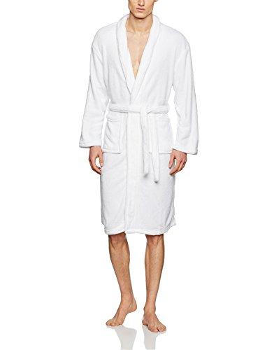 Soleil d'ocre 451003A MICROFIBRE Peignoir de bain Polyester Blanc 175 x 50 cm L