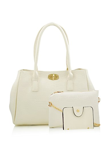 Mark & Keith White Handbag (MBG 0101 WH)