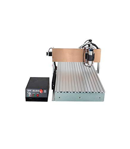 FRESADORA CNC 6090 CONTROLADOR MACH3 USB 3 EJES 2200W
