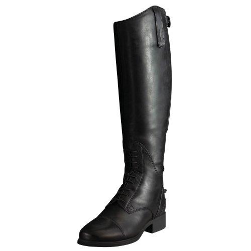 Stivali lunghi Ariat Bromont H2O, neri, oleati lucidi, non isolanti, Nero (Black), 40 EU Black