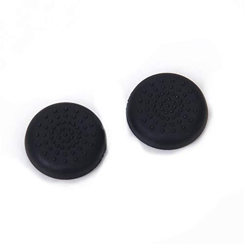 PS4 Wippenschutzkappe schwarz Paar equipmentReplacement Silikon Analog Controller Joystick Th