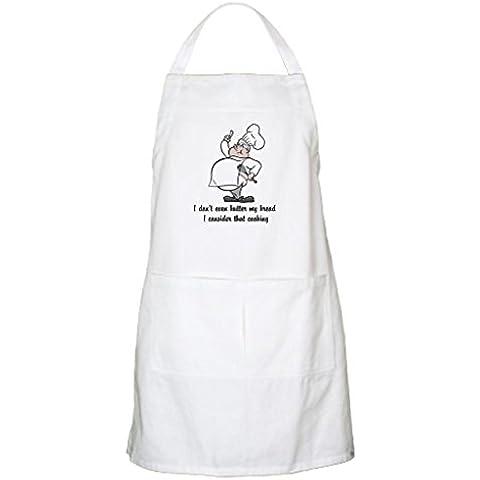 whiangfsoo Pretty lo chef grembiule da cucina - Black Cat Bbq Grembiule