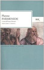 Parmenide. Testo greco a fronte
