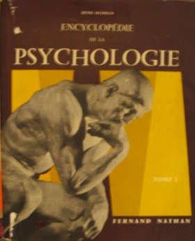 Encyclopédie de la psychologie t. 2 par Collectif