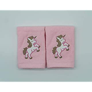 Pack of 2 Unicorn Face Cloth