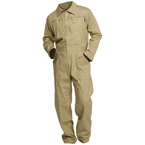 Sweat Life® Herren Overall Arbeitsanzug Khaki (52)