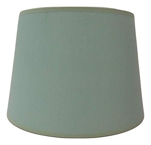 25,4cm Empire Hellgrün Baumwolle Stoff Lampenschirm Licht Lampe Tisch handgefertigt