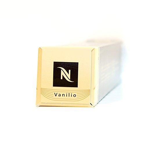 Buy Nespresso VANILIO Variations Coffee Capsule Box of 10 capsules from Nespresso