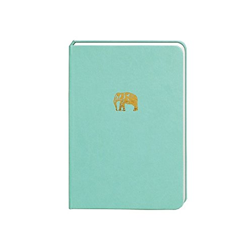 Portico Designs - Sky + Miller - A5 Light Blue Elephant Notebook